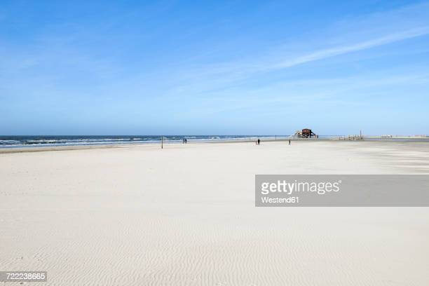 Germany, Schleswig-Holstein, St Peter-Ording, beach