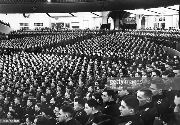 Germany Speech Of Adolf Hitler In Front Of An Assembly Of Young Officers On 1942 February 14Th