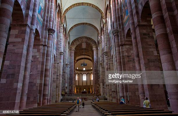 Germany Speyer Cathedral Interior