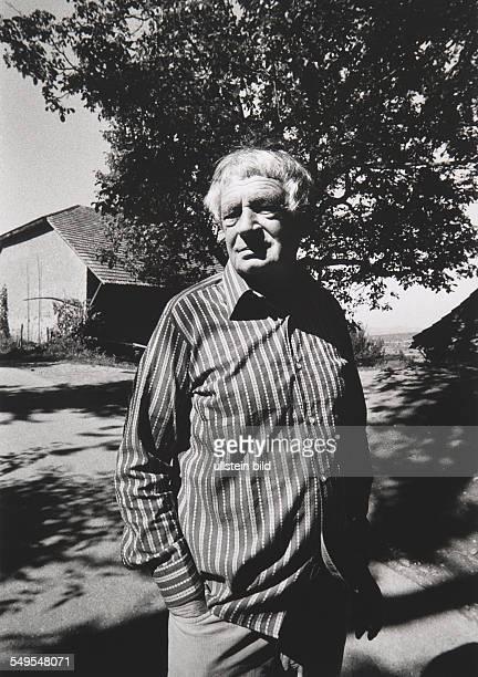 Germany Staufen poet Peter Huchel