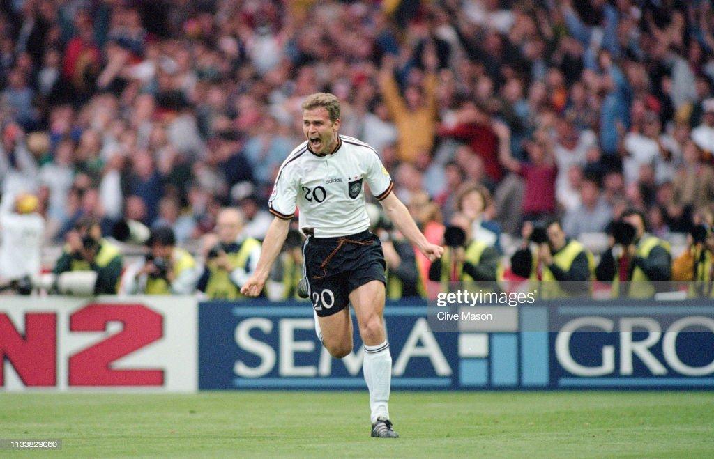 1996 UEFA Euro Championships Final Germany v Czech Republic : Photo d'actualité