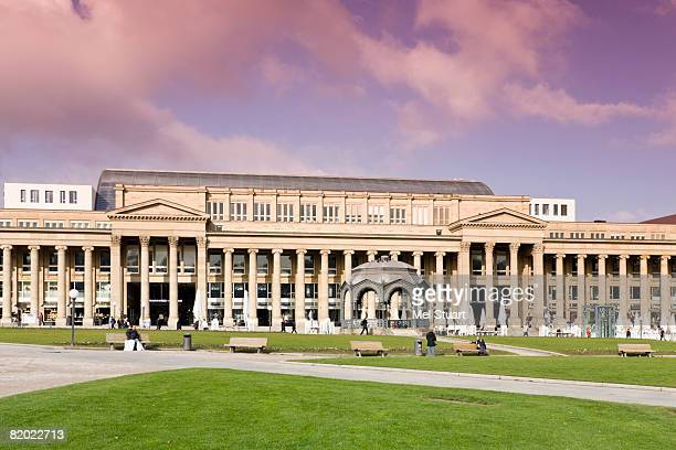germany, stuttgart, koenigsbau - castle square stock pictures, royalty-free photos & images