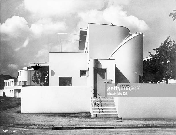 Germany Stuttgart The Weissenhof settlement built under the leadership of Ludwig Mies van der Rohe one family house planned by Hans Scharoun 1927