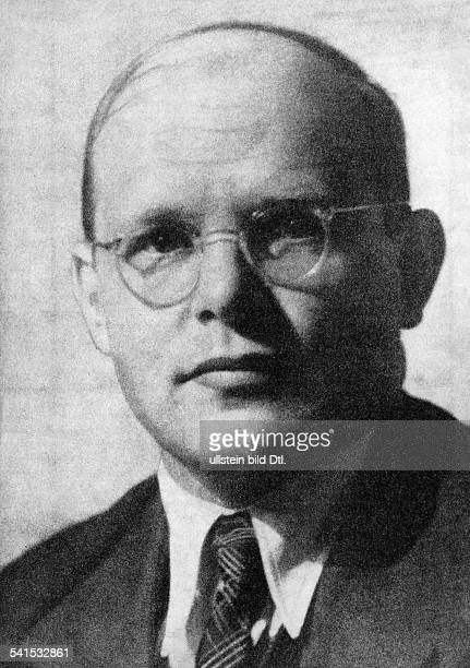 Germany, Third Reich Dietrich Bonhoeffer Dietrich Bonhoeffer *04.02..1945+ Protestant theologian, resistance fighter in the Third Reich, Germany -...