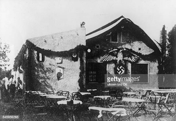 Germany Third Reich Foreign Organisation of the Nazi Party The 'HorstWesselHouse' of the local Argentine section 'Villa Ballester' of the Foreign...