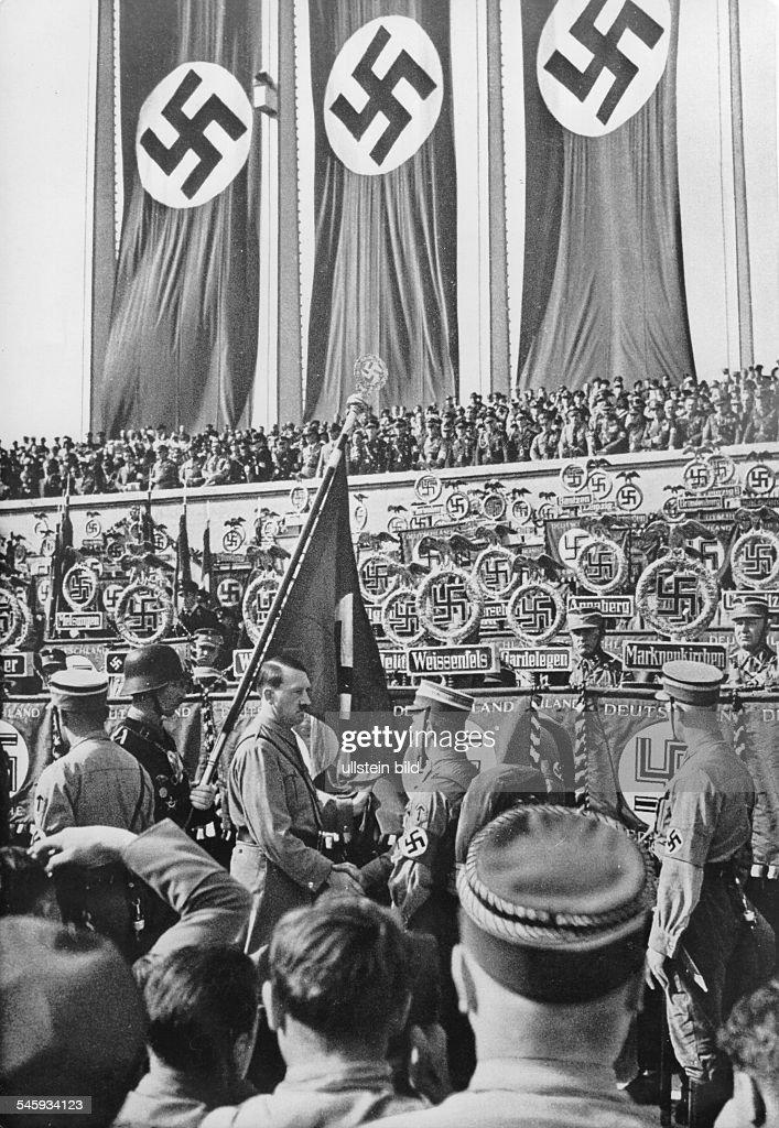 Germany, Third Reich - Nuremberg Rally 1934 Adolf Hitler