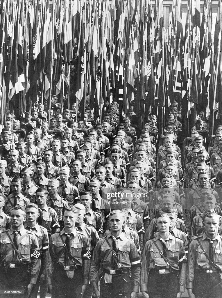 Germany, Third Reich - Nuremberg Rally 1938 Parade of the Hitler
