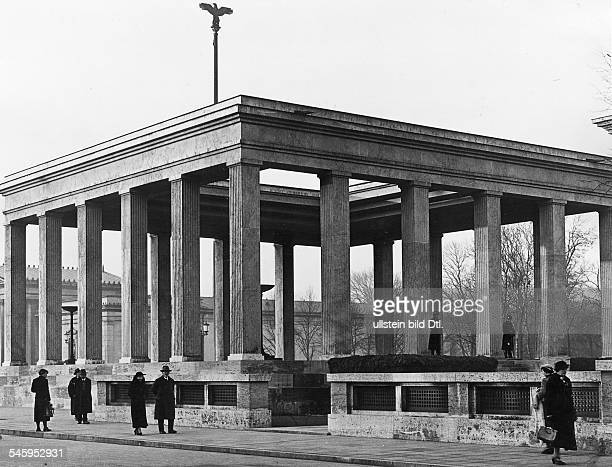 Germany Third Reich One of the two 'Honorary Temples for the Fallen of the Movement' at the Koenigsplatz in Munich design Paul Ludwig Troost
