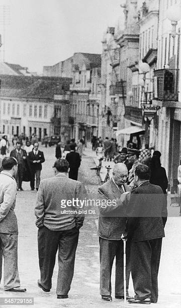 Germany Third Reich persecution of Jews 193945 emigration Caldas da Rainha / Portugal residence quarter that many of Jewish refugees had been...