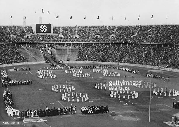 Germany Third Reich Solstice festival at the Olympic Stadium, Berlin -