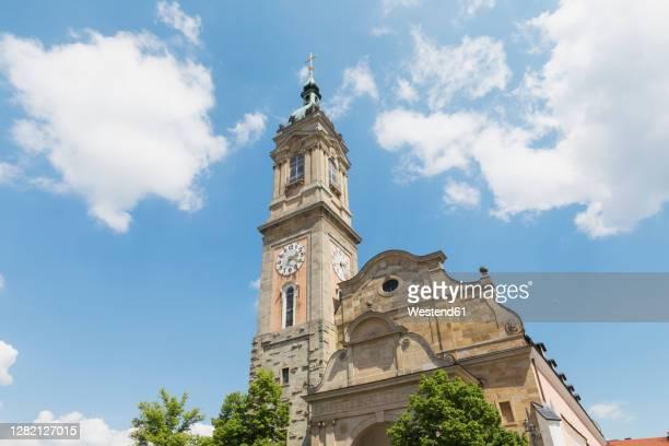 germany, thuringia, eisenach, bell tower of saint georges church - アイゼナッハ ストックフォトと画像