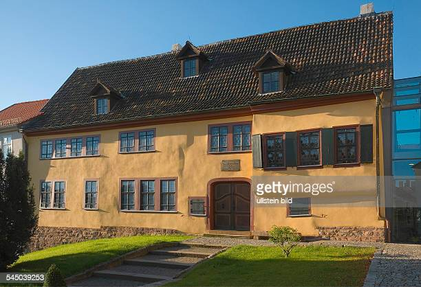 Germany Thuringia Eisenach House where Johann Sebastian Bach was born