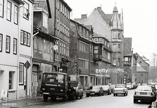 Germany Thuringia Meiningen - view to the old town
