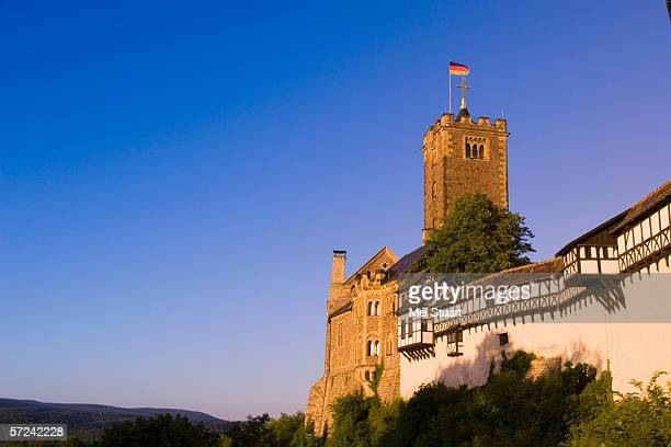 Germany, Thuringia, Wartburg Castle, low angle view