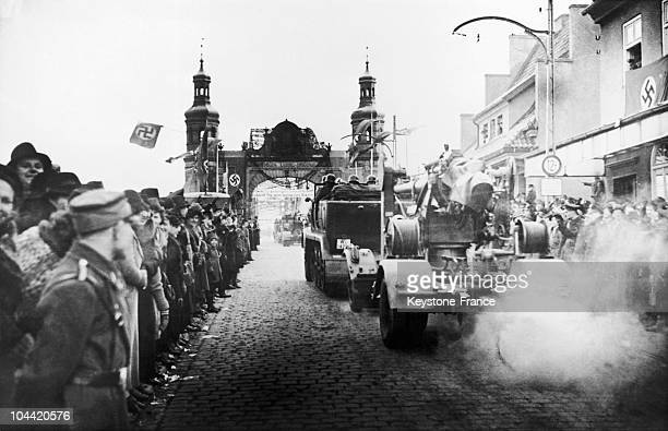 Germany Took Its Revenge On The Decision Of The 1919 Treaty Of Versailles Invading The Territory Of Memel Lithuania Around March 23 1939