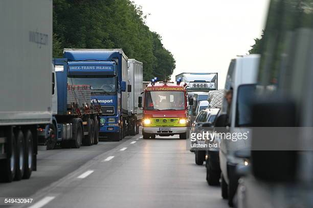 Germany: Traffic accident.
