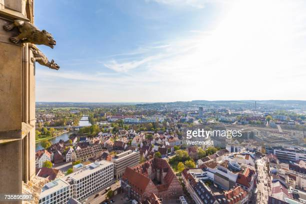 Germany, Ulm, cityscape seen from Ulmer Minster