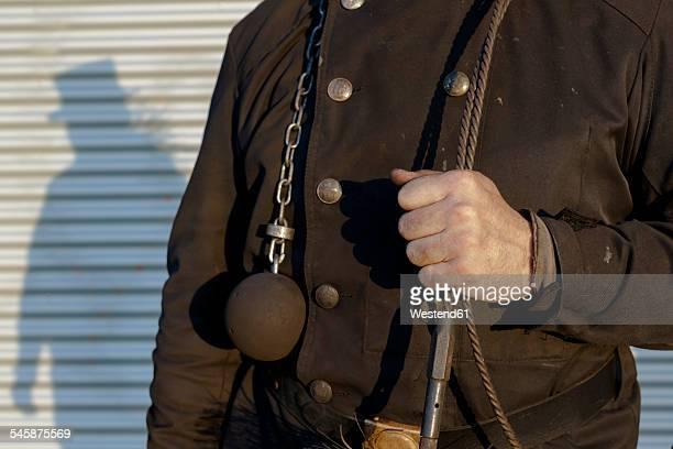 germany, uniform of chimney sweep - schornsteinfeger stock-fotos und bilder