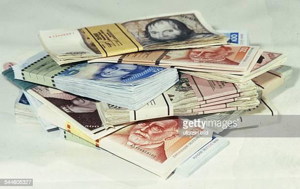 Germany various Deutschemark banknotes