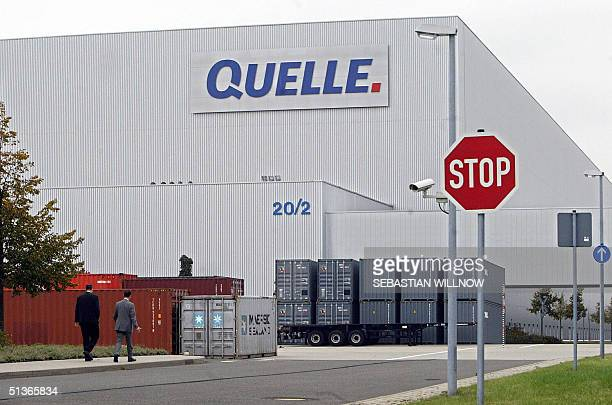 View of German mail order company Quelle taken 28 September 2004 in the eastern town of Leipzig KarstadtQuelle chairman Christoph Achenbach unveiled...