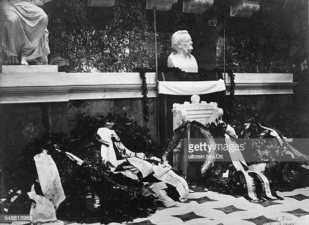 Germany Wagner Richard Composer Germany Memorial at the Walhalla celebrating the 100th birthday of Richard Wagner 1913 Photographer Friedrich Mueller...