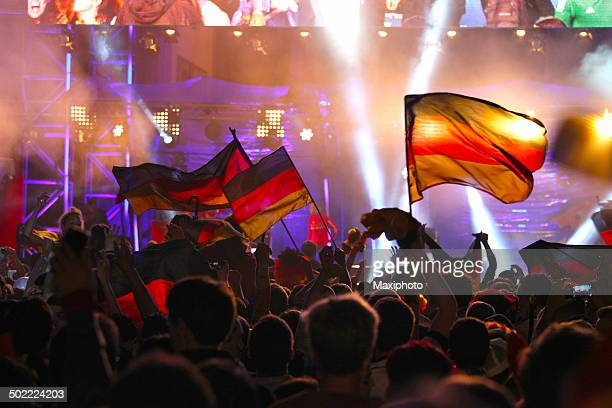 Germany wins: FIFA 2014 World Cup Champion Party, Berlin, Germany