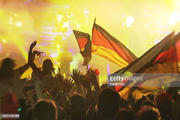 Deutschland gewinnt: FIFA Fußball-Weltmeisterschaft 2014 ™ Champion Party, Berlin, Deutschland