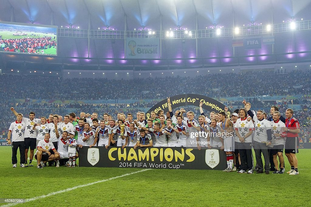 "FIFA World Cup final - ""Germany v Argentina"" : News Photo"