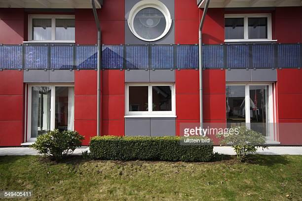 DEU Germany Wuppertal prefabricated house of the company Kampa