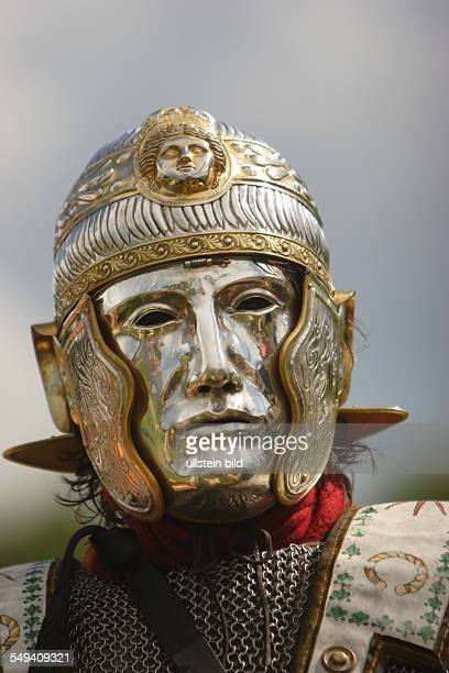 Germany Xanten The Archeological Park This event is called SWORDS BREAD AND GAMES The participants live two days long how they imagine Roman life was...