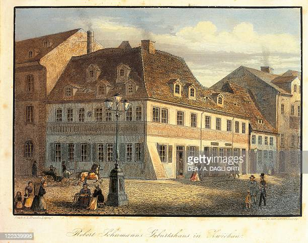 Germany Zwickau Birthplace of the composer Robert Schumann