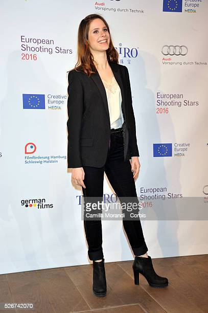 Germany66 Berlin Film Festival Daphne Patakia during the photocall of European Shooting Stars 2016