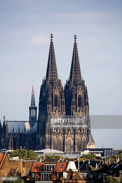 Germany, Cologne, Steeple of cathedral