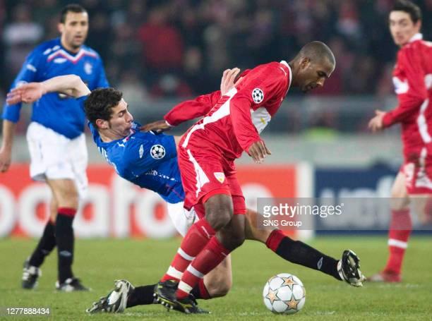 Rangers defender Carlos Cuellar heaps pressure on Cacau