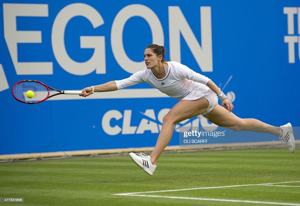 TENNIS-WTA-GBR : News Photo