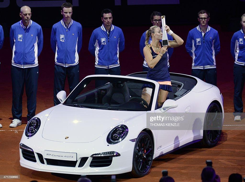 TENNIS-WTA-GER-DEN : News Photo