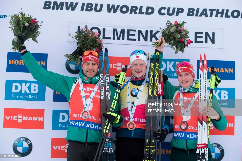 NOR: IBU Biathlon World Cup - Mass Start Competition