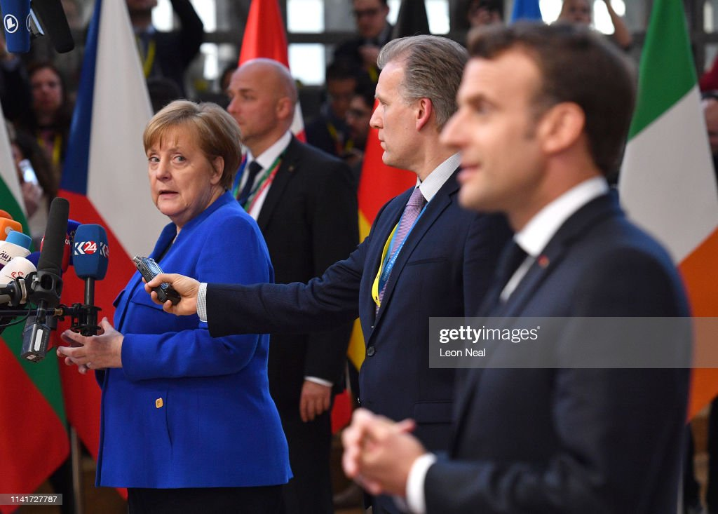 EU Leaders Discuss Brexit Extension At Brussels Summit : ニュース写真