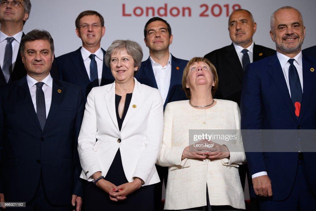 GBR: Theresa May Hosts The Balkans Summit
