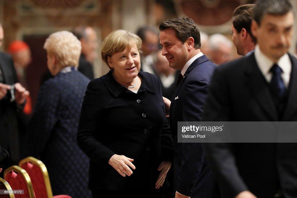 Pope Francis Meets European Leaders