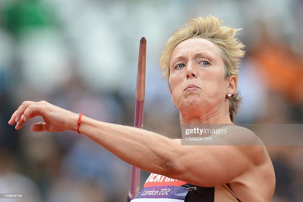 Germany's Christina Obergfoll ...