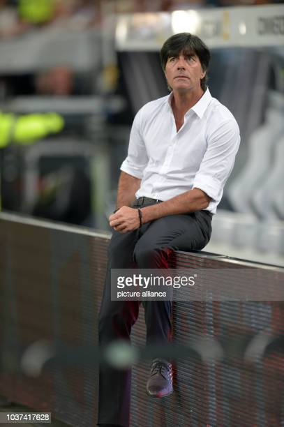Germany's coach Joachim Loew is pictured prior the international soccer match between Germany and Argentina at Esprit arena in Duesseldorf Germany 03...
