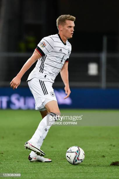 Germany's defender Matthias Ginter controls the ball during the UEFA Nations League, league A, day 2, group 4 football match between Switzerland and...