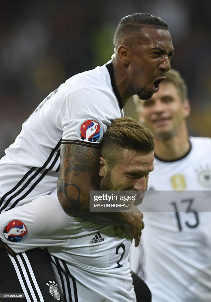 FBL-EURO-2016-MATCH7-GER-UKR : News Photo