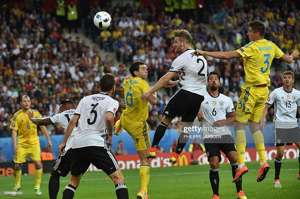 FBL-EURO-2016-MATCH7-GER-UKR : News Photo