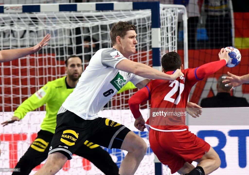 Germany S Finn Lemke Vies With Czech S Ondrej Zdrahala