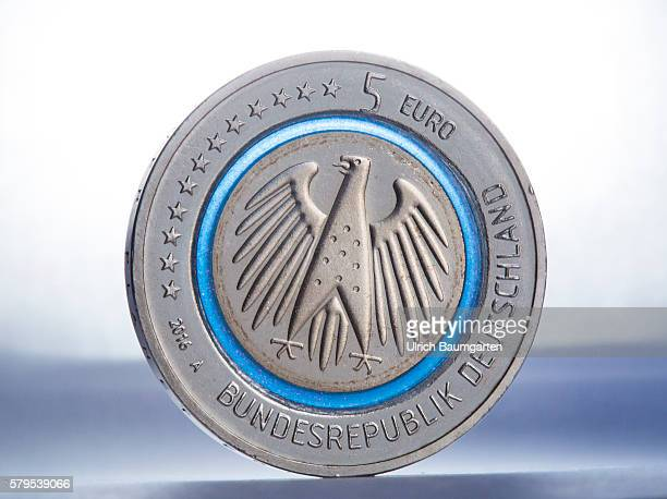 5 Euro Mnze Stock Pictures And Images