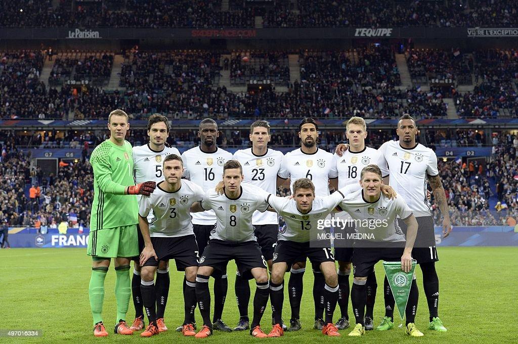 FBL-EURO-2016-FRA-GER : News Photo