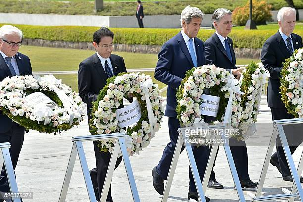Germany's Foreign Minister FrankWalter Steinmeier Japan's Foreign Minister Fumio Kishida US Secretary of State John Kerry British Foreign Secretary...