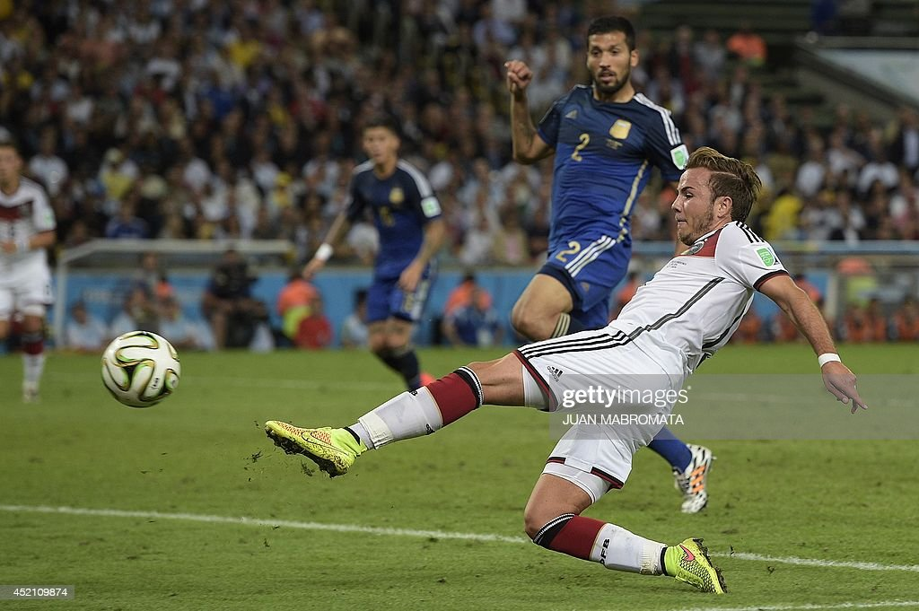 FBL-WC-2014-MATCH64-GER-ARG : News Photo